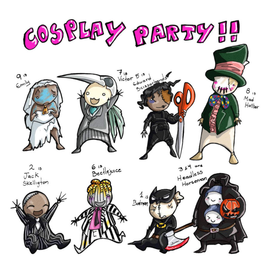 Cosplay Party - 9 by DarkMirime