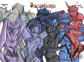 T-PRIME_Decepticons by DarkMirime