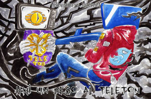 #Ni un Peso al Teleton by DarkMirime