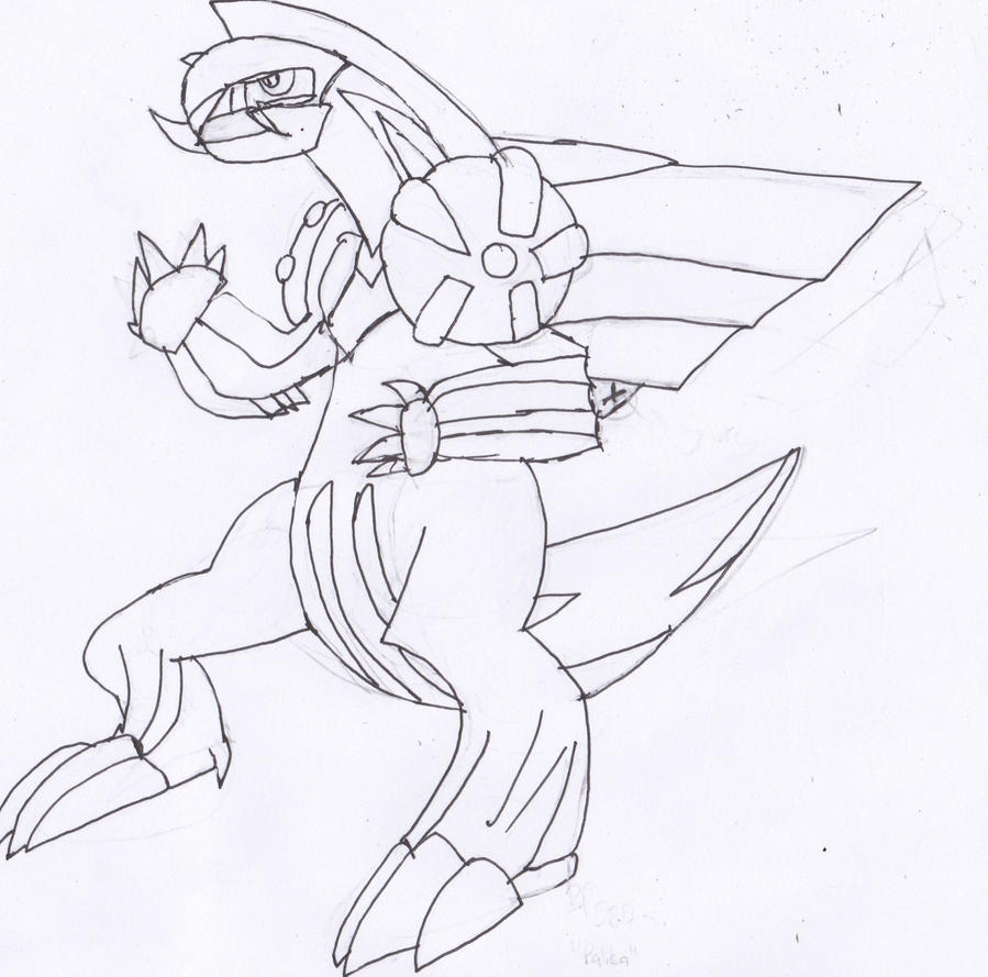 palkia coloring pages - photo#12