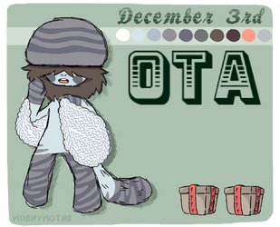 CLOSED OTA Mushymoth [0016] by Swuishi