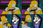 Homer Meets Weegee
