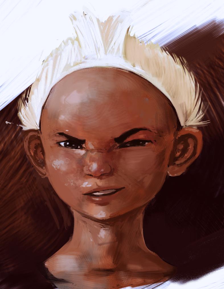 Little Brazilian Native boy by BrennoSousa