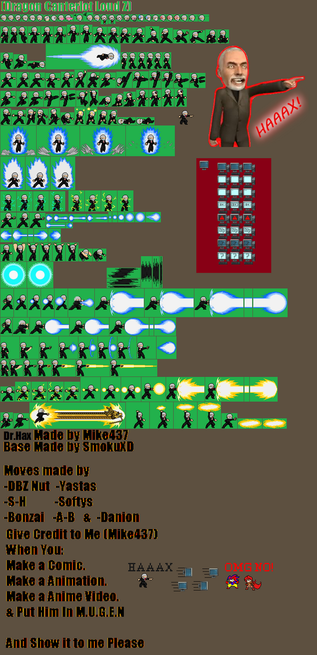 DCL Z Dr.Hax Sprite by Mike437