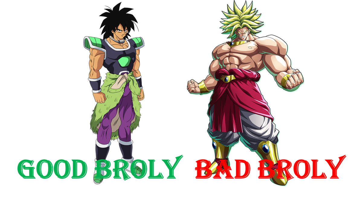 Good and Bad Broly by Mike437