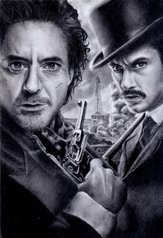 Sherlock Holmes by LaRhette0