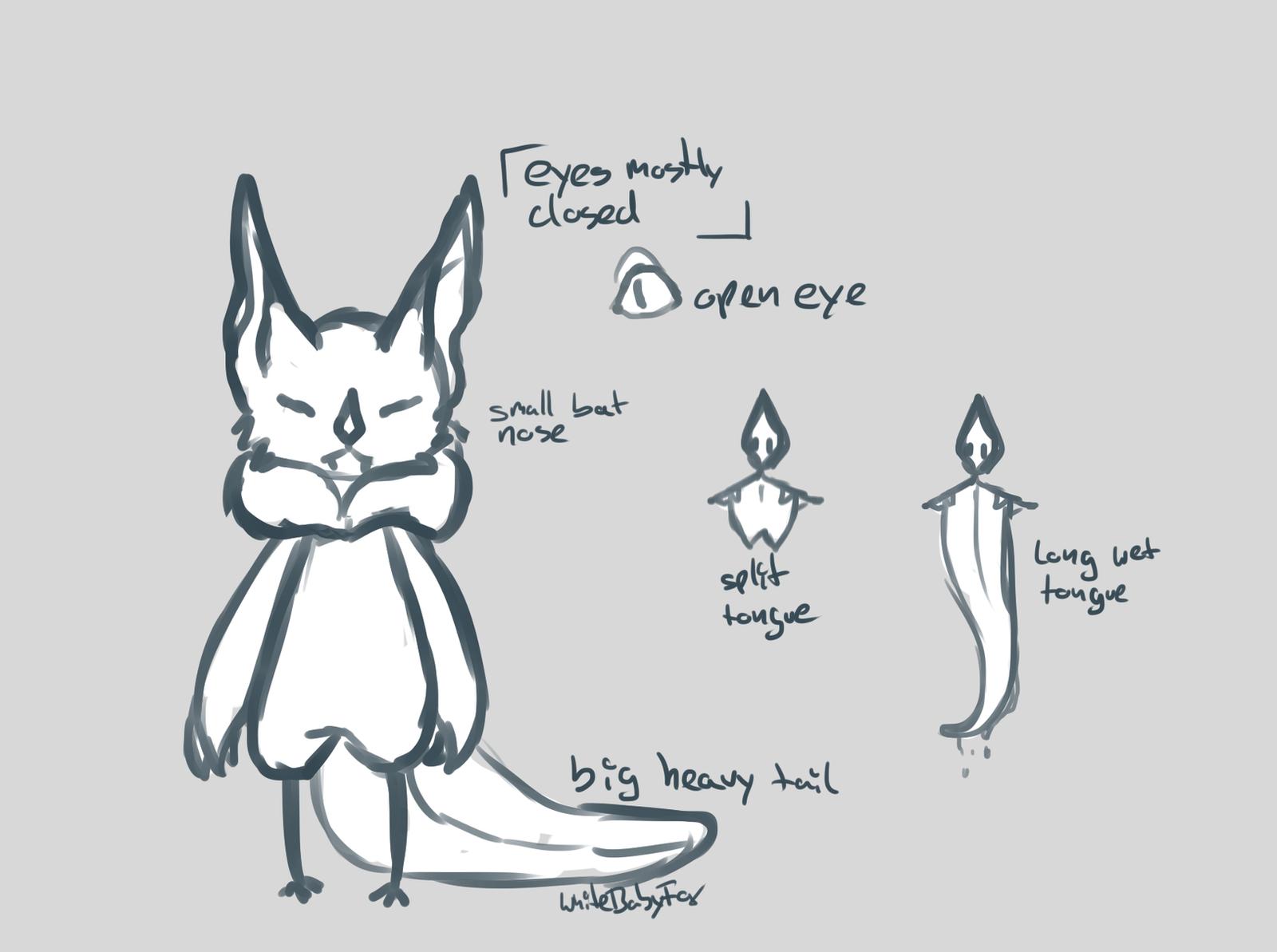 New species + MYO by WhiteBabyFox
