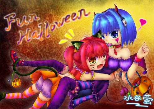 Fun Halloween~ \(ovo)/