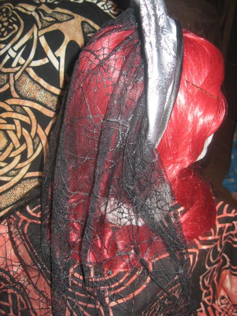 Tudor Headband with Veil 1 by WillowForrestall