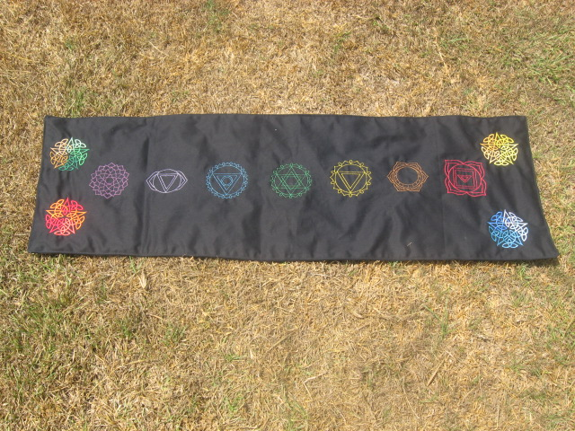 Chakra Altar Cloth by WillowForrestall