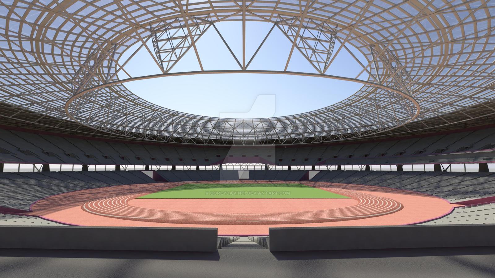 West Ham Olympic Stadium By CoreyDaVinci On DeviantArt