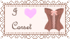I Love Corset-Satmp by HalyWolf