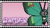 Garden Vivillon Stamp by Miya902