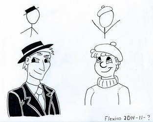 Xkcd character portraits