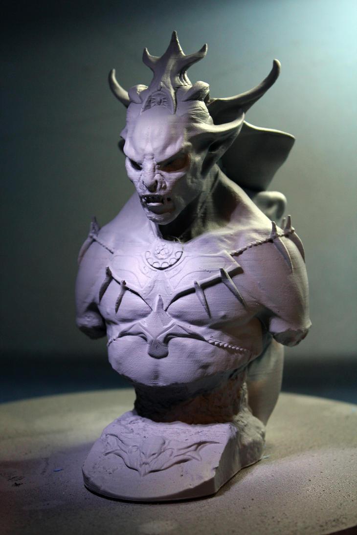 Skyrim Dawnguard Vampire Lord 2 by Vsions
