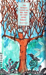 Tree  - Artjournal 4