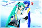 Happy Valentines 2013!~Miku and Kaito