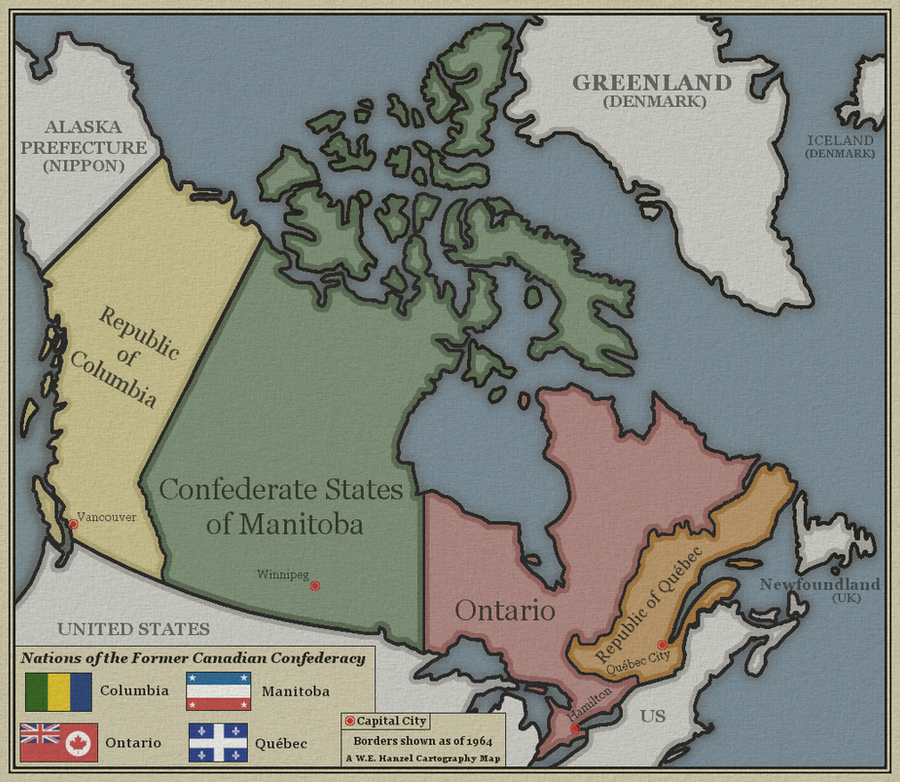 Alternate Canadas by whanzel