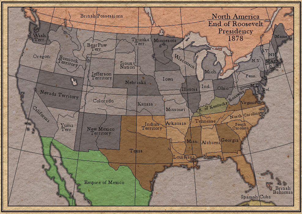 Roosevelt Revisited N. America by whanzel
