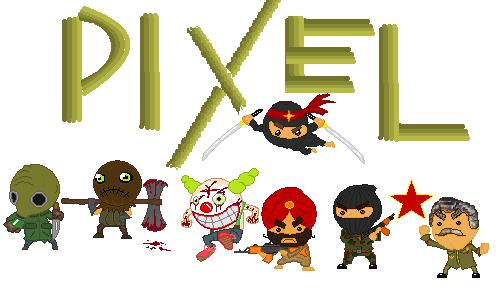 Pixel Dudes by xXxSp4rtyxXx