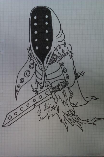 Grim Tentacle Reaper  Knight by xXxSp4rtyxXx