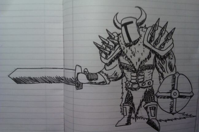 Nordic Warlord by xXxSp4rtyxXx