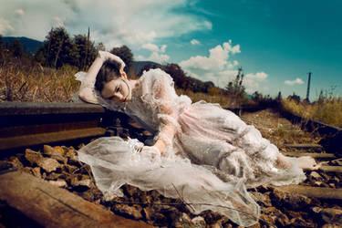 Runaway Bride...2 by idaniphotography