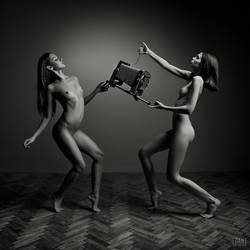 The Nude Photographer by idaniphotography