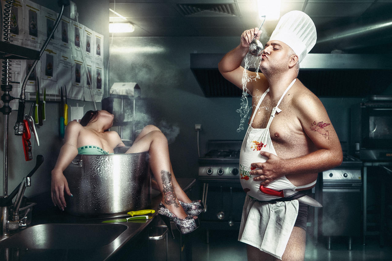 The Cook by idaniphotography
