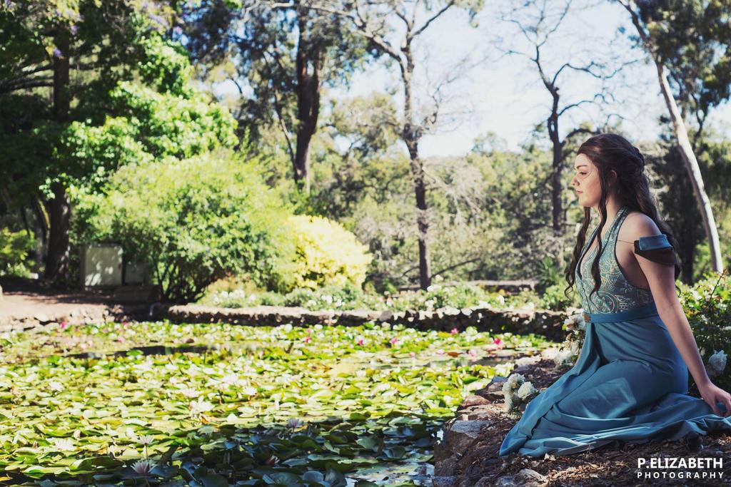 Margaery Tyrell Garden Dress - Game of Thrones by GunnerYunie