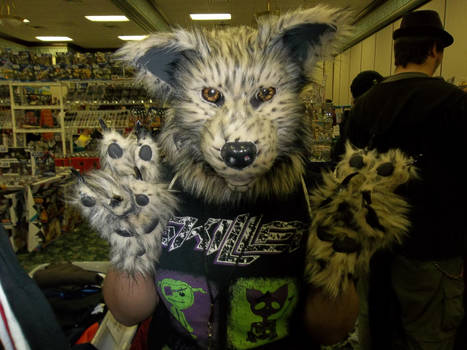 My First Fursuit made by me :D