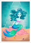 Blue Mermaid by lauramiclea