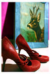 Red Shoes by zillahderigeaud