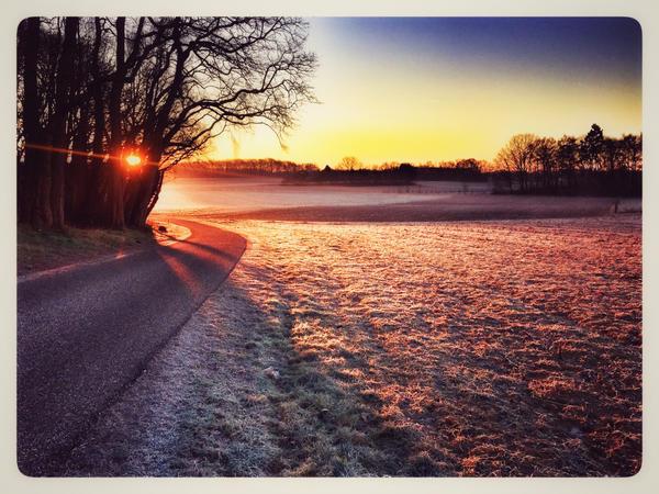 Winter morning by zillahderigeaud
