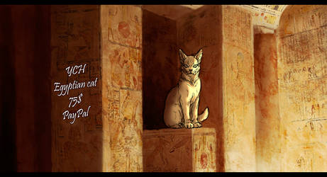 YCH Egyptian Cat [OPEN]