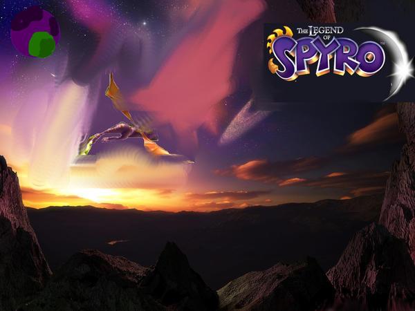 Free Spyro Wallpaper By IceFireSpyro