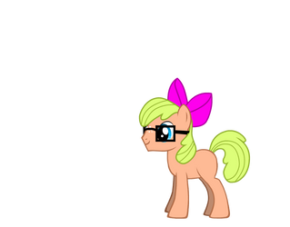 Mal Hearts Vector (No Cutie Mark) Bow Ver. by TheMultiBrony22