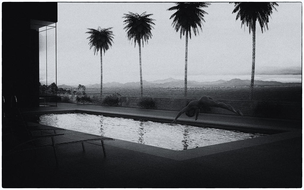 Desert Pool by OneGearPhoto
