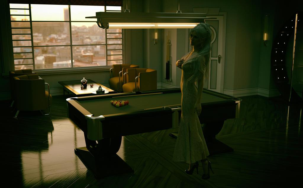 Pool Room 1 by OneGearPhoto
