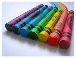 Crayons by a5phyxiate
