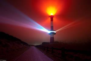 Lighthouse by MoritzKaufmann