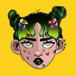 Sticker Girl - Sticker Party Filter