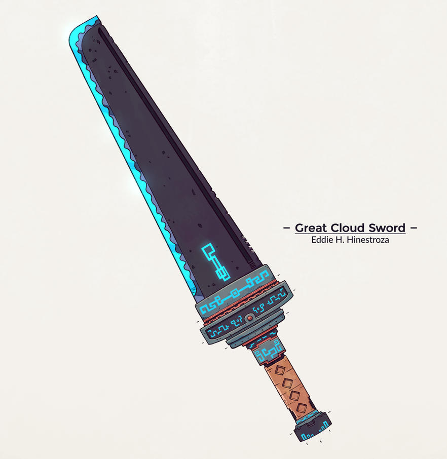 GreatCloudSword by Ediarts