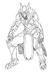 Armor Sketch by jiji-sam
