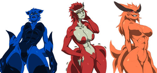 Tailed Beasts by jiji-sam