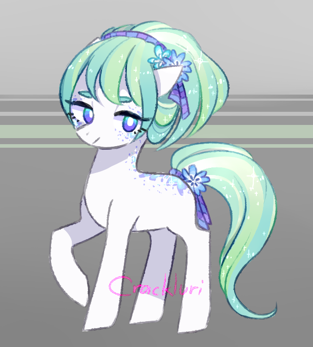 Pony Adopt! CLOSED by Crackluri