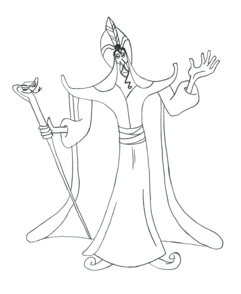 disney villains coloring pages - photo#23