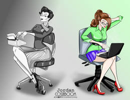 The Evolution of the Working Woman by JordoDeskjockey