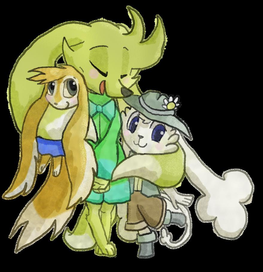 Petran Hug by TheGunheart