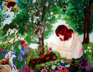 Gerta in the Garden by theaccordiantheif